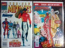 New Mutants #98 (reprint)& #99