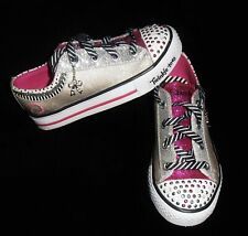 New listing Skechers Twinkle Toes Girls Charmingly Chic Lace Sneakers 12 New