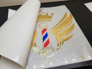 Barber Shop Window Stickers Wall Signs Decal Salon Personalization Logo Style