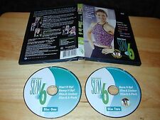 Debbie Siebers' Slim In 6 Fitness Beachbody 2009 2-Disc DVD Set 2hrs. 50min.