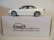 Audi S8 D3 2008 White 1/18 Otto Mobile OT699