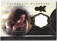 Cryptozoic Outlander CZX Costume Wardrobe Card Caitriona Balfe Claire W4 XX/99
