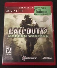 Call Of Duty 4 : Modern Warfare (Sony Playstation 3, 2007) Tested & Complete!