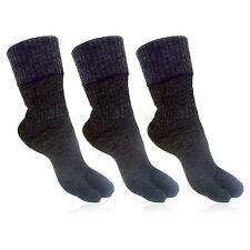 Woolen Black Thumb Socks for Women Pack of 3 Pair_BROGWL-17B-PO3