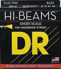 DR SMR-45 Hi Beam BASS Guitar Strings 45-105 medium gauge short scale
