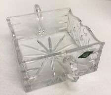 Shannon 24% Lead Crystal Designs of Ireland Square Bowl