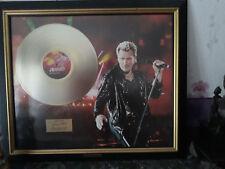 disque d or de johnny stade de france 1999  Edition Limité 2500 ex