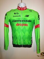 2017 POC Cannondale Drapac Pro Cycling Team Midweight LS Jersey Jacket Small S 2