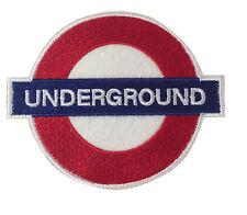 Underground London Embroidered British UK Patch Badge iron on