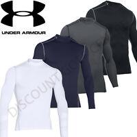 Under Armour Mens 2018 UA Golf ColdGear Compression Mock Base Layer