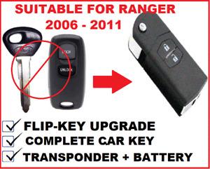 Remote Flip Car key suitable for FORD RANGER 2007 2008 2009 2010 2011 41521-8C