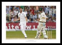 James Anderson Celebrates 2013 England Ashes Cricket Photo Memorabilia (889)