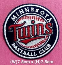 Minnesota Twins Beasball Club MLB Sport Logo Patch Embroidery iron,sew on fabric