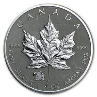 2012 Canada 1 oz Silver Maple Leaf Titanic Privy (Spotting) - SKU #91270