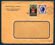 MONACO - MONACO - 1958 - BUSTA - Da MONACO, Montecarlo - Soggetti diversi