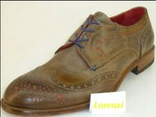 Lorenzi Shoes Mens Made in Italy Handmade Lace Up Leather EUR 40/41