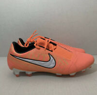 Nike Phantom Venom Elite FG ACC Soccer Cleats Bright Mango AO7540-810 Size 8