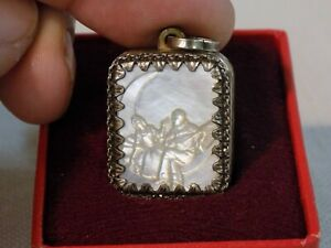 1970's Silver Musical Locket by Reuge of Switzerland - Mint NOS