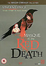 The Masque Of The Red Death (DVD, 2007) - Good Condition