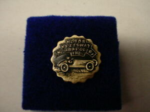 Vintage  Motor Speedway Indianapolis Ind. Lapel/Hat Pin  s86  VERY RARE