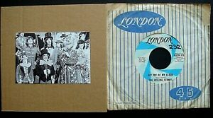 """THE ROLLING STONES """"GET OFF MY CLOUD"""" U.S.A LONDON LABEL SINGLE RELEASE"""