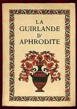 A. FERDINAND HEROLD: LA GUIRLANDE D'APHRODITE. ED H.PIAZZA. 1923.