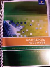 Mathematik  Neue Wege Lineare Algebra Analytische Geometrie ISBN 9783507855861