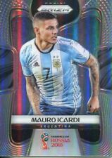 Prizm World Cup 2018 Silver Parallel Base Card #8 Mauro Icardi - Argentina