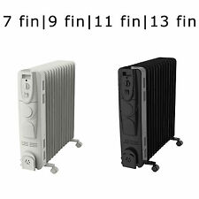 Portable Oil Filled Radiator Winter Heater with Thermostat 3 Heat Levels Instant