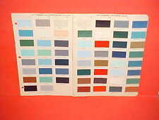 1956 CHEVROLET CORVETTE CADILLAC FORD LINCOLN OLDS PONTIAC INTERIOR PAINT CHIPS
