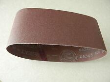4 x 24 40 grit sanding belt, aluminum oxide 5 pak