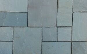 Kandler gray Natural Indian Stone - Sandstone Paving Patio / Driveway Flags