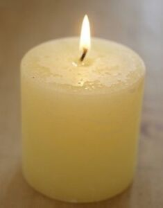 """St Eval """"Sea Mist"""" Scented Pillar Candle 3"""" x 3"""" 60 hours burn time"""