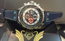 Luxury chronograph-cavadini Watch Tachymeter Turnable Ring New Design 2016