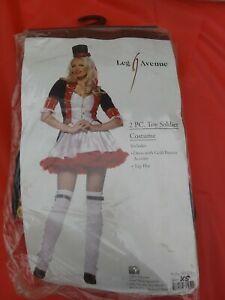 Leg Avenue Ladies Sexy Toy Soldier 2 Piece Costume New size XS