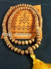 10mm Genuine Fragrant Sandalwood Mala Buddhist Prayer Beads Rosary India