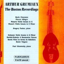 Arthur Grumiaux - Arthur Grumiaux Boston Recordings [New CD]