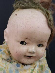 Vintage Haunted Moving Eye Baby Doll Possessed Spirit Horror Halloween Demonic