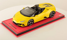 1/18 MR Collection Lamborghini Huracan Evo Spyder Yellow Tenerife limited 25 pcs