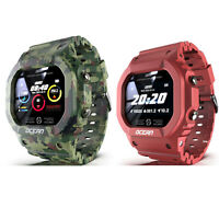 Fashion Men Smart Watch Heart Rate Blood Pressure Monitor IP68 Sports Wristwatch
