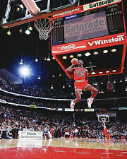 MICHAEL JORDAN 1988 Slam Dunk Contest Champion 16x20 Photo CHICAGO BULLS