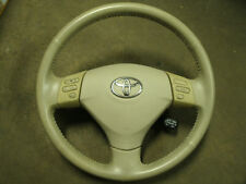 Toyota Solara Driver Airbag steering wheel with controls Dual 04-05-06 TAN/BEIGE
