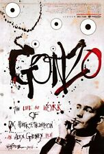 GONZO: THE LIFE AND WORK OF DR. HUNTER S. THOMPSON Movie POSTER 27x40 Johnny