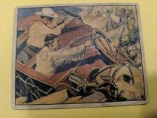 """Original Lone Ranger Trading Card #5 """"The Wrecked Stagecoach"""""""