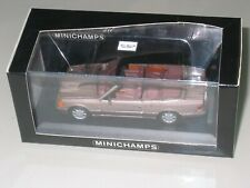 WOW RARE  MERCEDES BENZ  W124 FACELIFT E CLASS CABRIOLET   MINICHAMPS 1/43