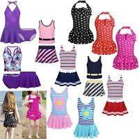 Baby Kids Girls Swimwear Bikini Tankini Swimsuit Swimming Swim Bathing Costume
