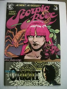 Eclipse SCORPIO ROSE #1 (1983) Dr. Orient, Steve Englehart, Marshall Rogers