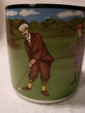 Golf Coffee Mug Cup Black Inside FIB 1994 Flowers Inc Balloons 647900