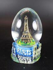 Paris Palla di neve Torre eiffel Snowglobe Waterglobe,Negozio di Souvenir