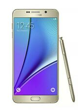 Samsung Galaxy Note5 SM-N920  64GB Unlocked - Gold Platinum